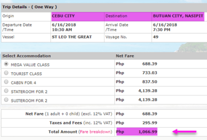superferry-ticket-rate-cebu-to-butuan