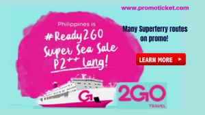 2Go Travel August 2018 Promos as Low as P2++ Manila and Batangas