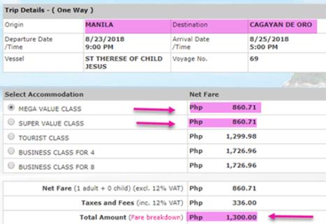2go-sale-ticket-manila-to-cagayan-de-oro