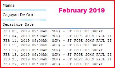 2go-trips-schedule-manila-to-cagayan-de-oro-february-2019