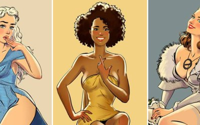 Les pin-up de Game of Thrones
