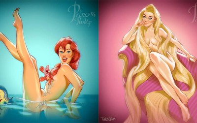 Les pin-up de Disney