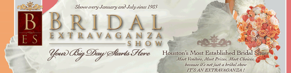 Its official! We will be at the 2017 Houston Bridal Extravaganza in Booth 609