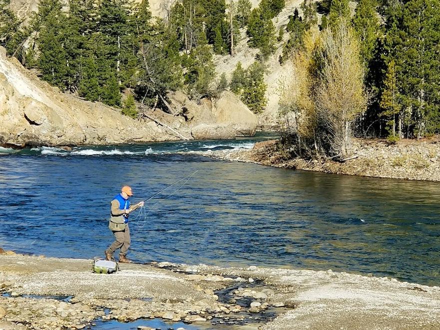 visiting Yellowstone National Park