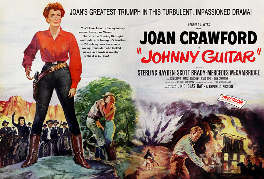 """Huge, with every south african/american dish you can imagine. Joan Crawford's Western Classic: """"Johnny Guitar ..."""