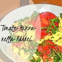 Tomate-Mozzarella-Rührei