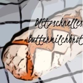 Brot, blitzschnell mit Haferflocken & Buttermilch