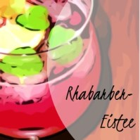 Rhabarber-Eistee