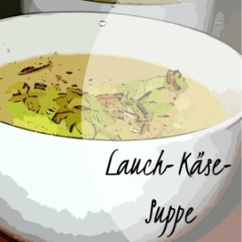 Lauch-Käse-Suppe