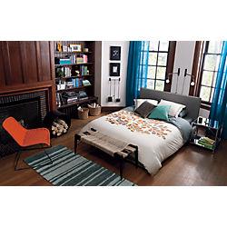 Chrome_nightstand