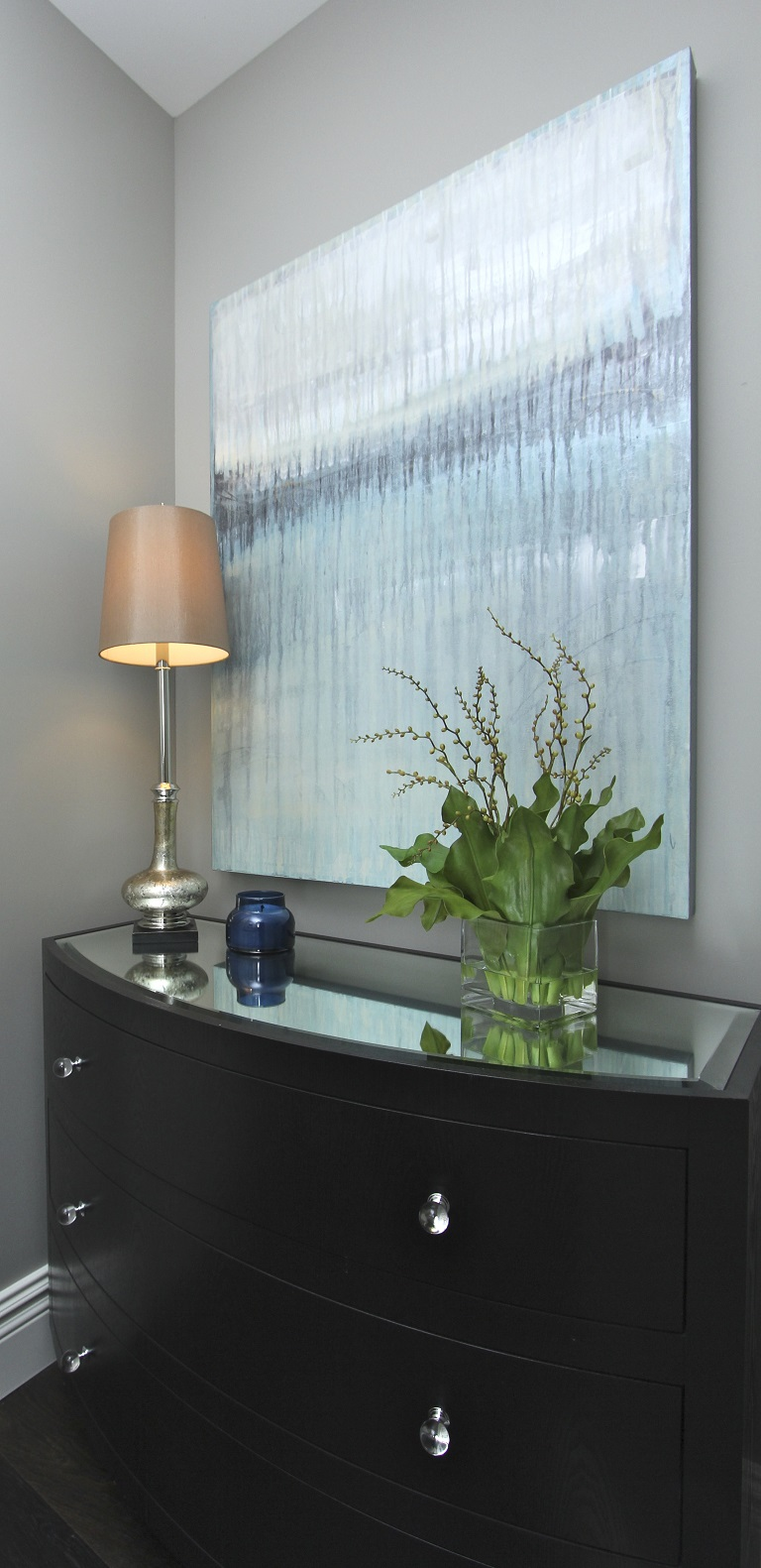 Hamptons Inspired Luxury Powder Room Robeson Design San Diego Interior Designers