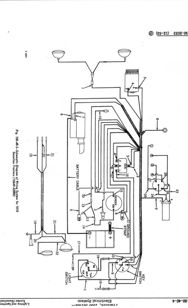 1010 john deere tractor wiring diagram  save wiring