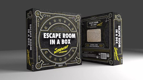 Escape the Room in a Box Game: Werewolf Experiment