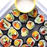 Joyful Sushi Rolls|Raw Vegan Recipe