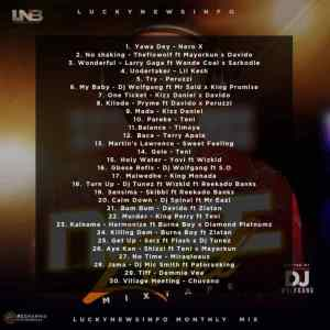 LuckynewsinfoBlog Monthly Mix Next Level Mixtape Hosted by Dj Wolfgang