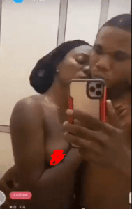 Viral video of nude Nigerian couple