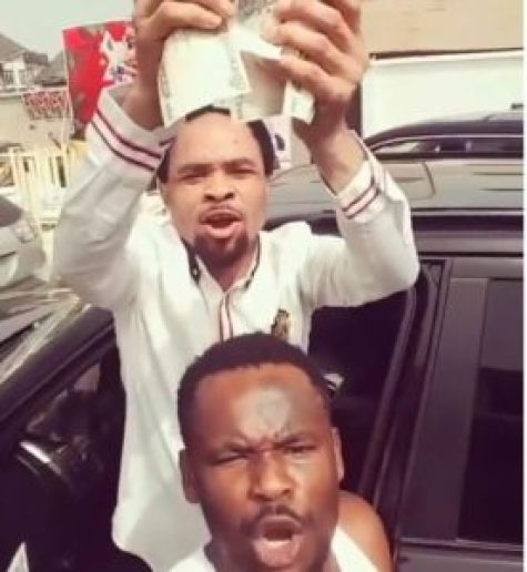 Nollywood actor Azubuike Michael Egwu professionally known as Zubby as taken to social media to distance himself from the self acclaimed Lion of the tribe of Onitsha, Prophet Odumeje.