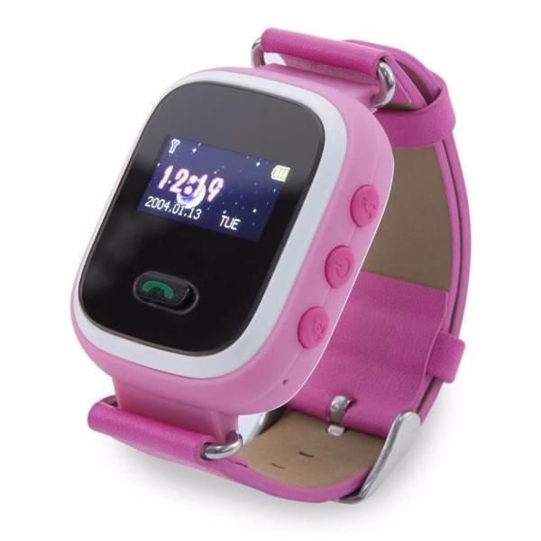 Детские смарт-часы с GPS трекером Smart Baby Watch Q60 Pink