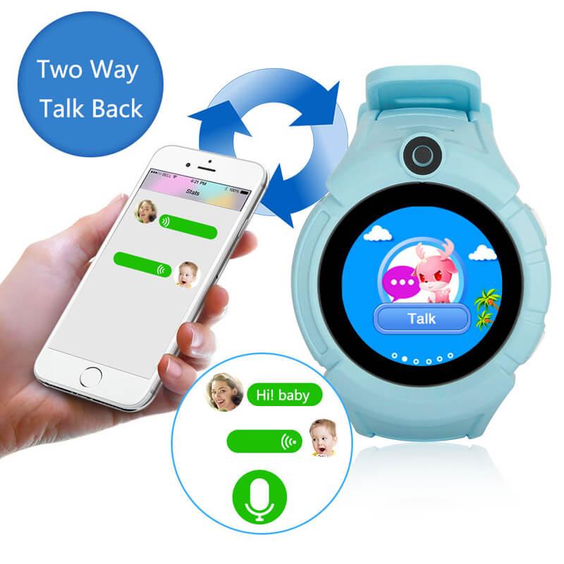 Детские GPS часы Smart Baby Watch Q360 (G610)