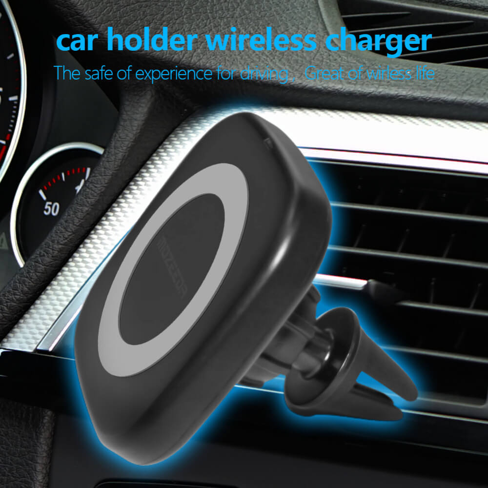 Magnetic Wireless Charger - магнитный держатель для телефона в автомобиль с функцией беспроводной зарядки