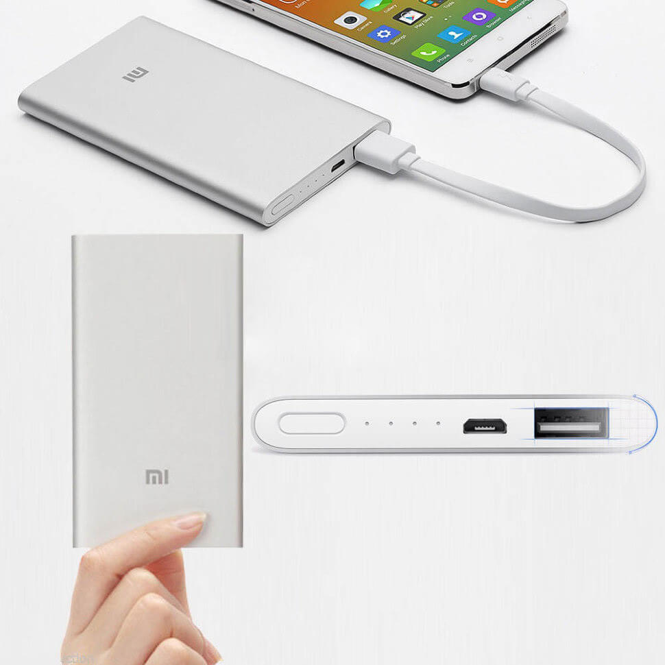 Power Bank Xiaomi MI 12000 mAh Slim
