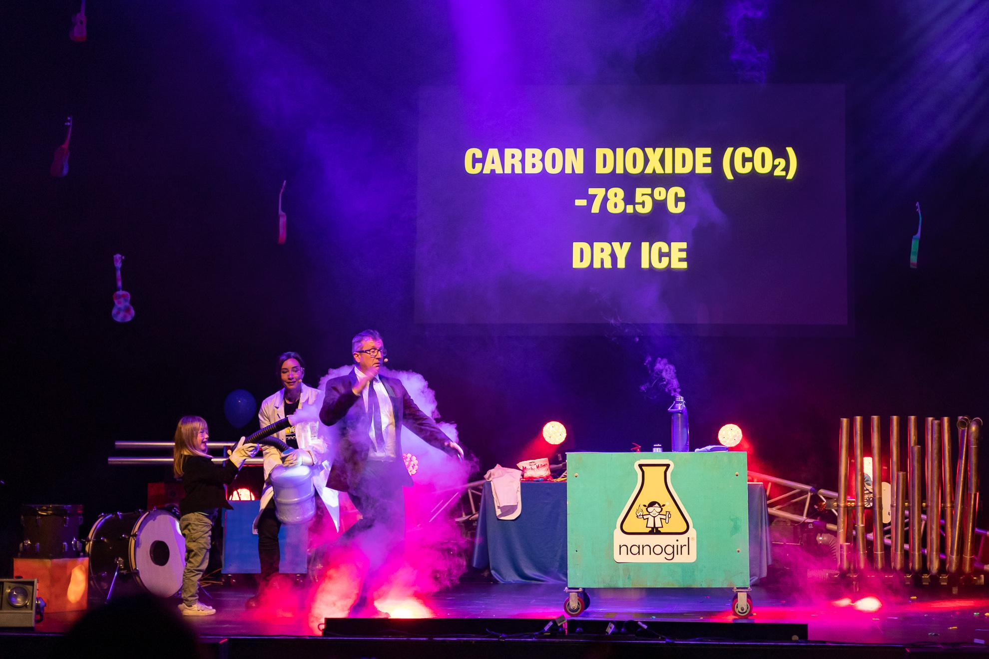 Dry Ice Fun