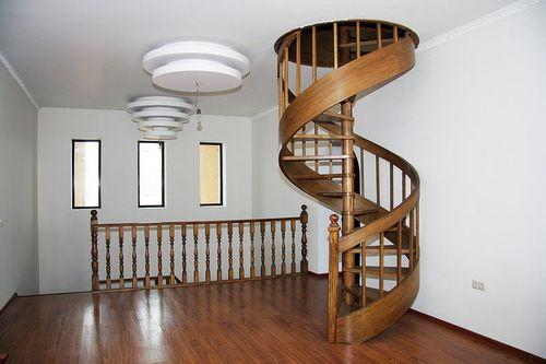 Варианты лестницы для небольшого дома