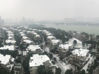 Schnee in Changsha