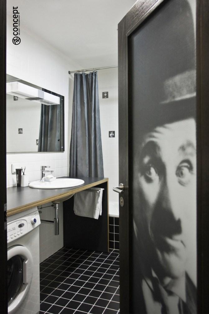 Poster als Badezimmer Deko