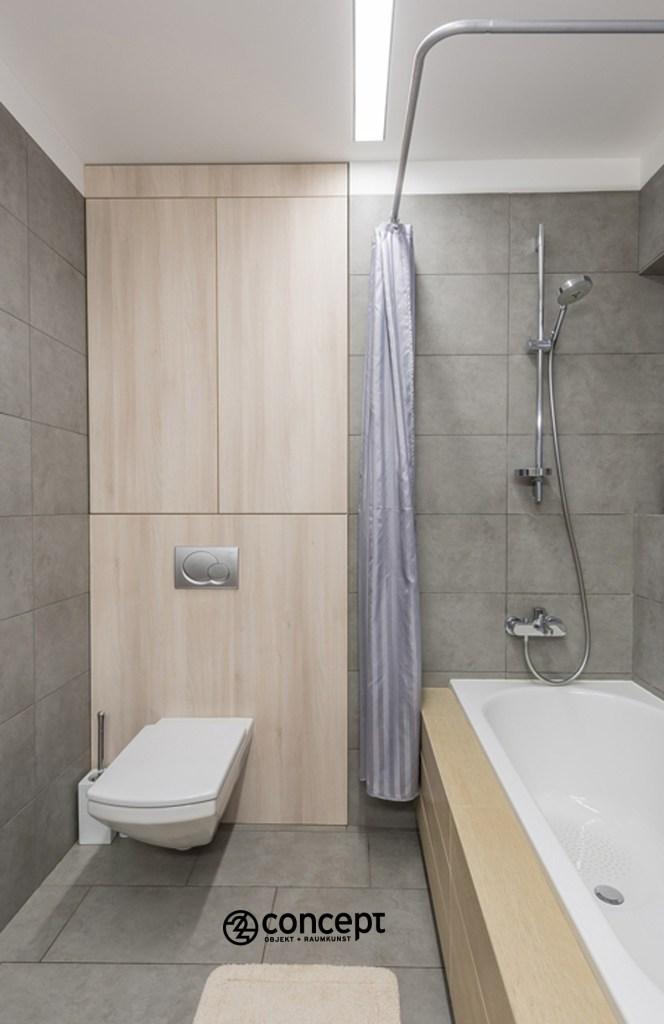 Design vom Einbauschrank für Bad