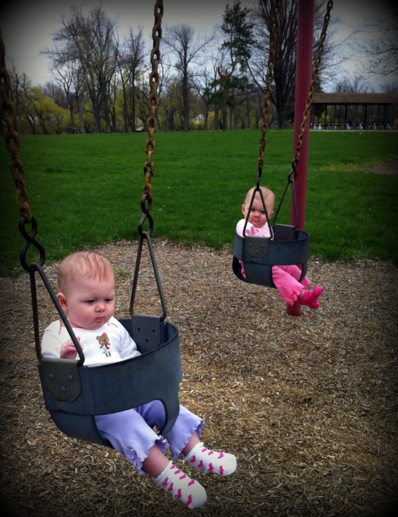 Swings are… fun?