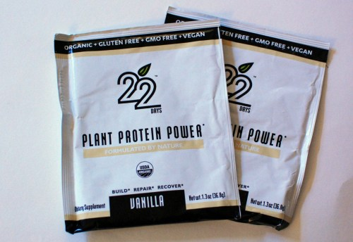 Packets of protein.