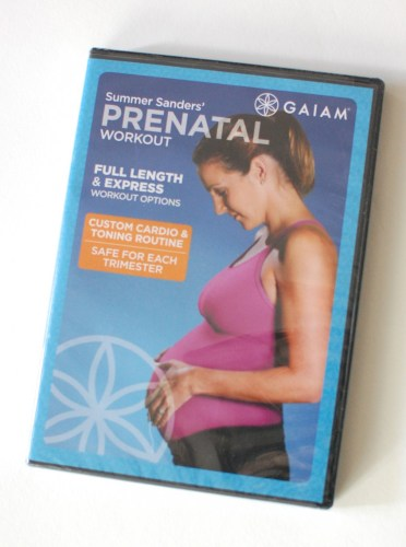 Prenatal workout DVD