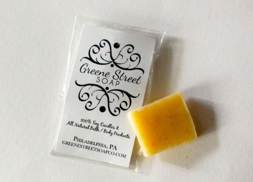 Oatmeal soap!