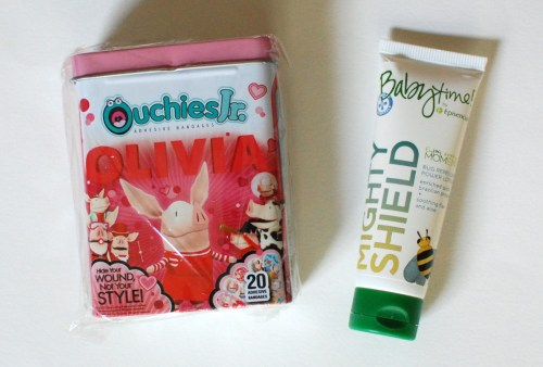 Bandaids & bug repellant!