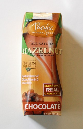 Hazelnut milk!