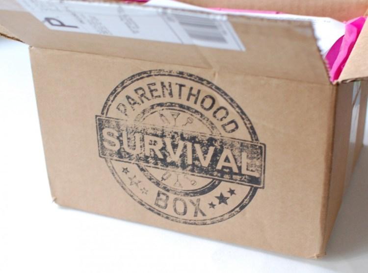 New Subscription Box! Parenthood Survival Box Review