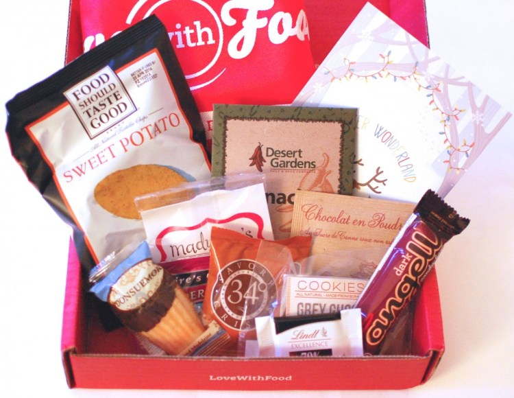 Love With Food December 2013 Review & Limited Time Offer