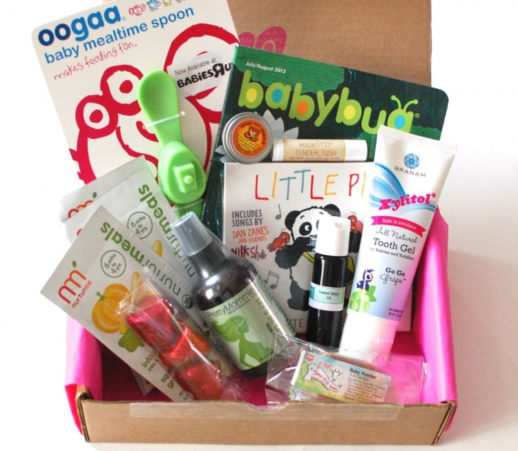 "Ecocentric Mom ""Baby"" Box January 2014 Review & Discount Code"