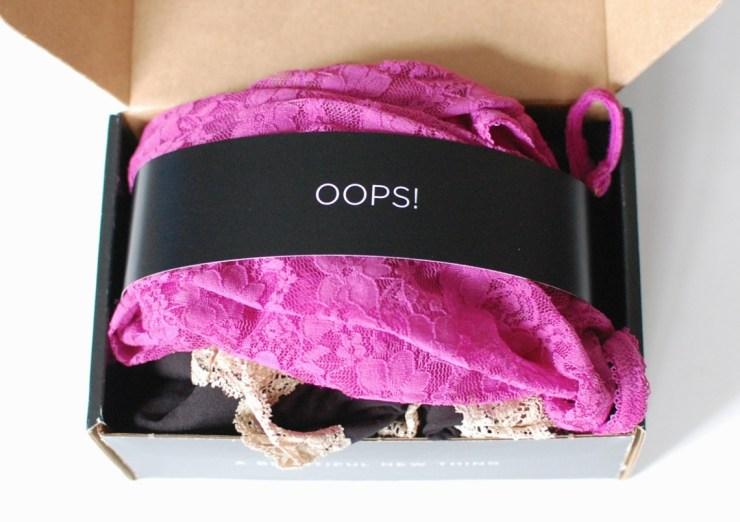 Wantable Intimates box