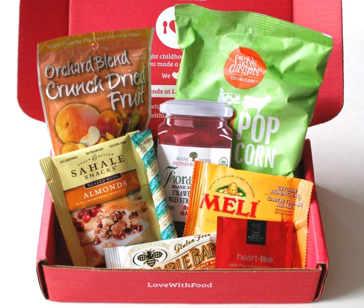 Love With Food April 2014 Review & Code for Free Box!