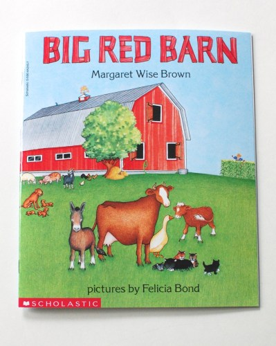 Scholastic Big Red Barn book cover