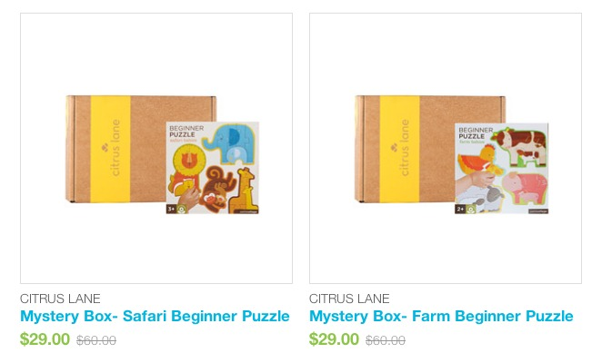 MORE Citrus Lane Mystery Boxes & $10 Coupon Code To Use On Them!