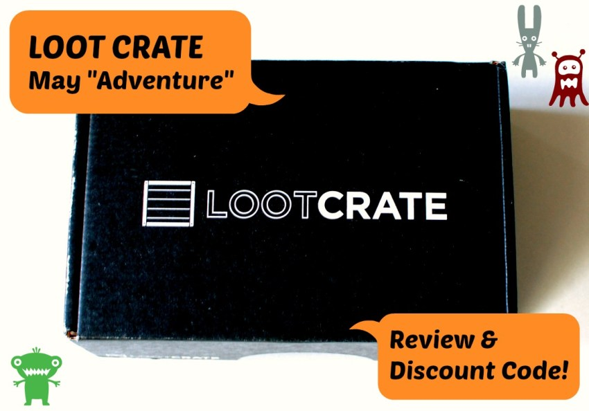 """Loot Crate """"May Adventure"""" Review"""