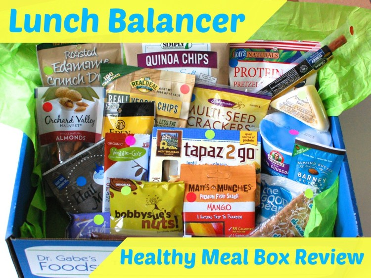 Lunch Balancer Healthy Meal Box Review & 25% Discount Code