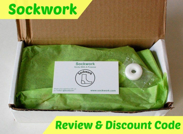 "Sockwork ""Socks with a Purpose"" Review & Discount Code"