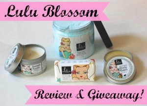 Lulu Blossom Natural Beauty Products Review & Giveaway! Ends 7/31/14