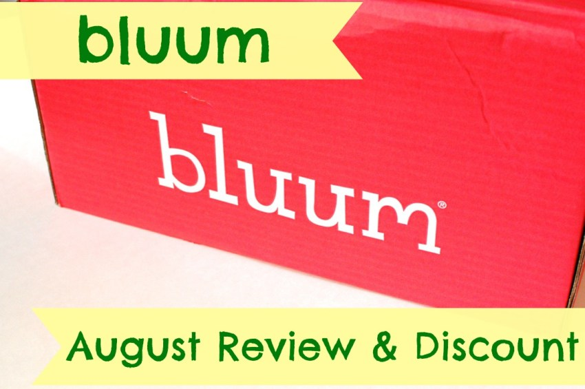 Bluum August review & discount code