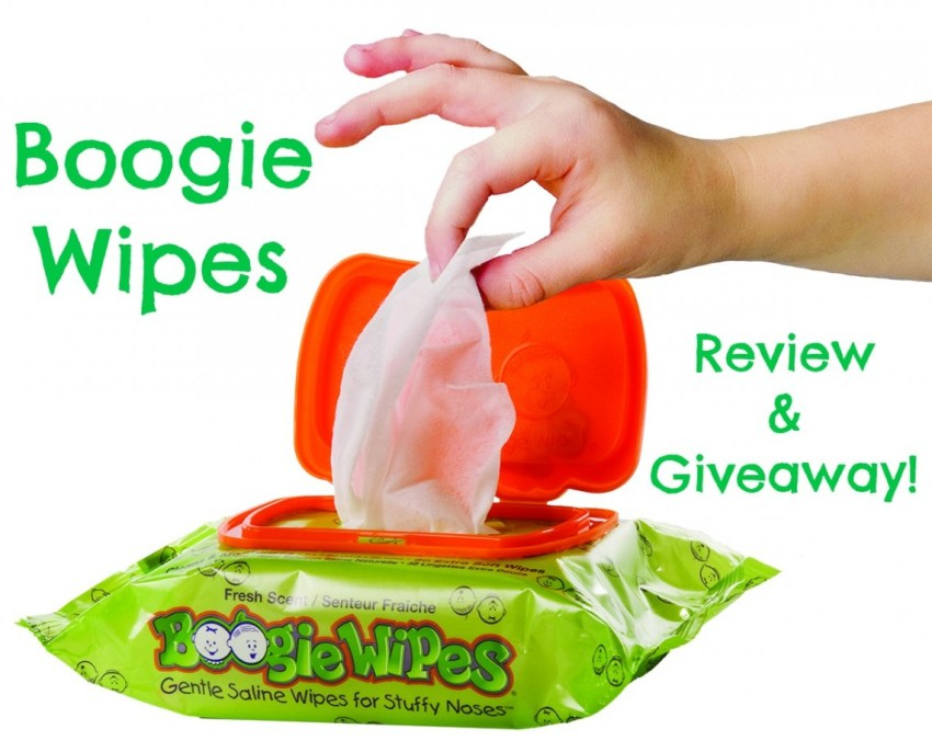 Boogie Wipes review & giveaway