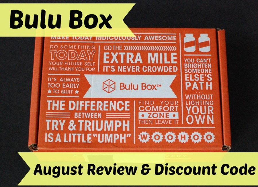 Bulu Box August review & discount